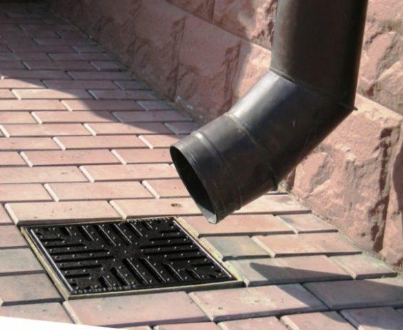 Как устроить отвод ливневых вод от фундамента дома