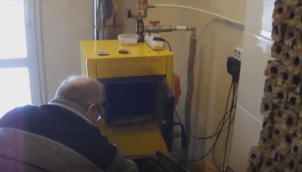 Отопление дома твердотопливными котлами