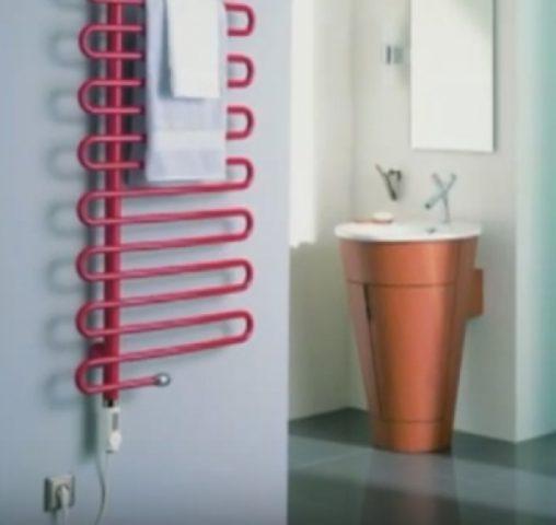 Выбор и подключение электрического полотенцесушителя