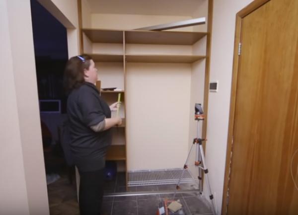 Как монтировать угловой шкаф собственными руками