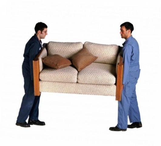 Особенности доставки крупногабаритной мебели. Как занести диван в квартиру