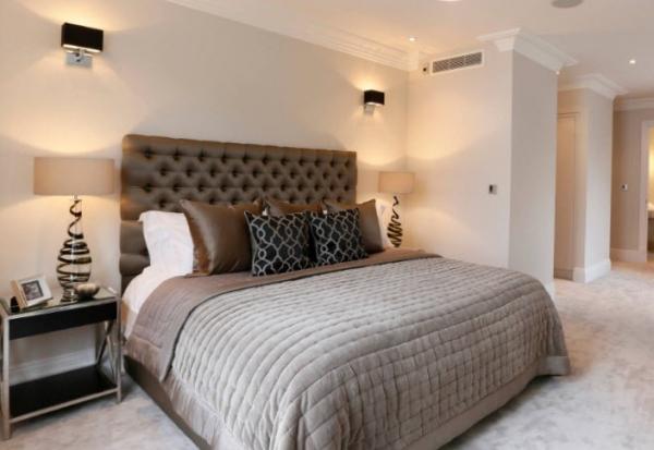 Мягкие кровати в интерьере: соединение роскоши и практичности