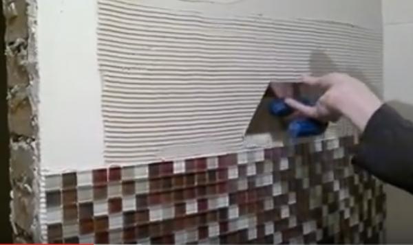 Особенности укладки мозаичной плитки