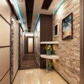 Прихожие для узких коридоров в квартире— дизайн, фото
