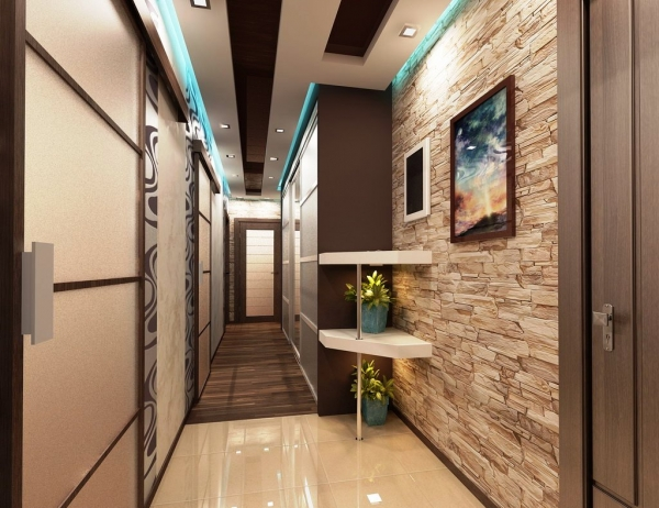 Прихожие для узких коридоров в квартире - дизайн, фото