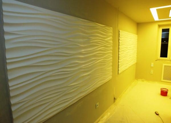 Как выбрать дизайнерские 3D панели из гипса