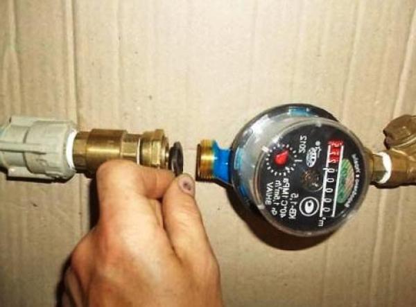 Установка счётчика на воду: особенности монтажа