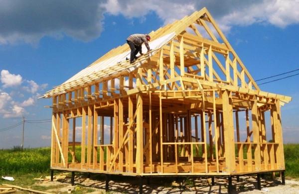 Строительство каркасных домов - технологии строительства