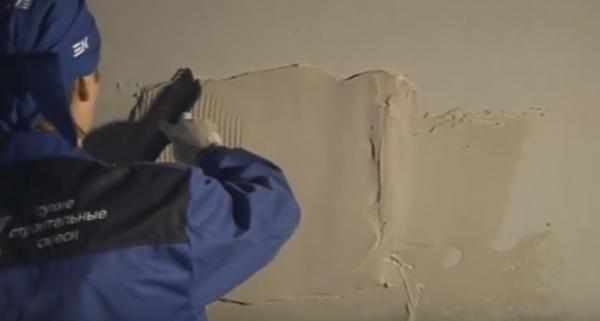 Как самому зашпаклевать стену в доме