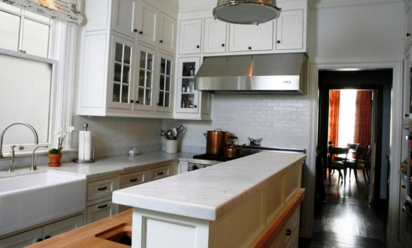 Дизайн маленькой кухни - идеи сезона 2017