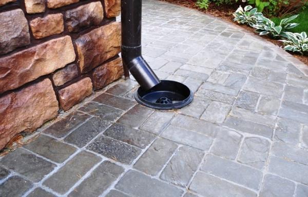 Как самостоятельно устроить ливневую канализацию