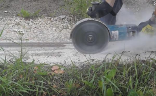 Режем бетон аккуратно и безопасно
