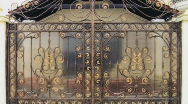Как самому создать оригинальные кованые ворота