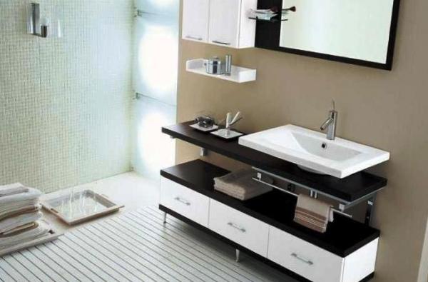 Мебель в ванной комнате – все тонкости выбора