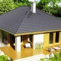 Четырехскатная крыша – разновидность завершающего элемента