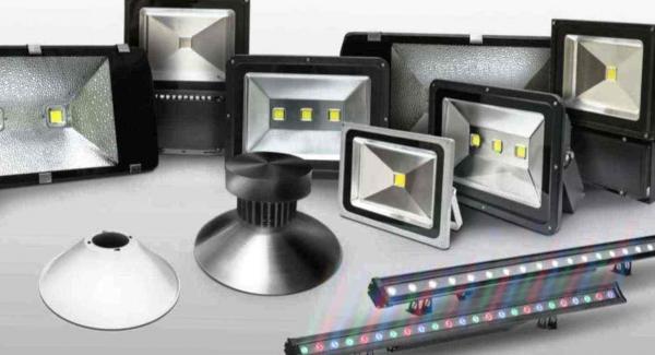 Типы светодиодных прожекторов и область их применения