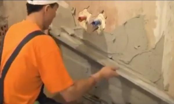 Выравнивание стеновых поверхностей своими руками и его особенности