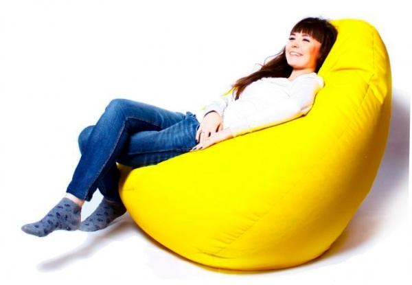 Кресло-мешок возможно сделать самому!