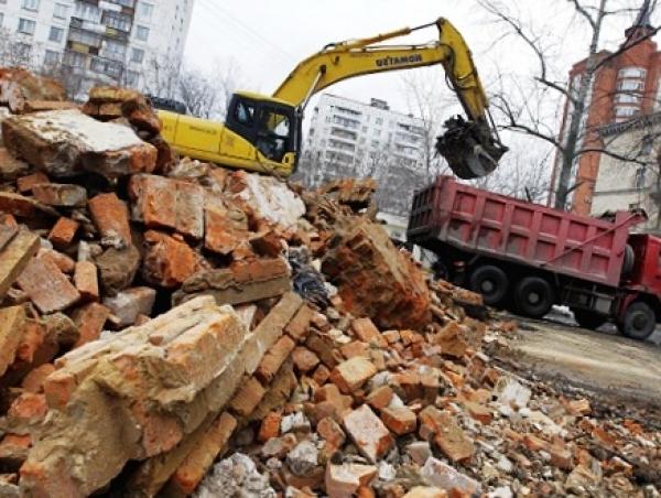 Что делать со строительным мусором