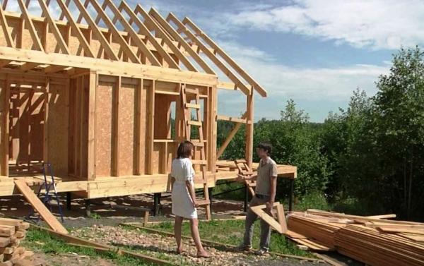 Каркасная технология строительства домов – плюсы и минусы
