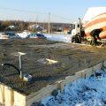 Способы подогрева бетона при помощи электричества в холодное время года