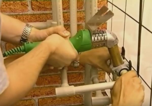 Методика самостоятельной пайки пластиковых труб