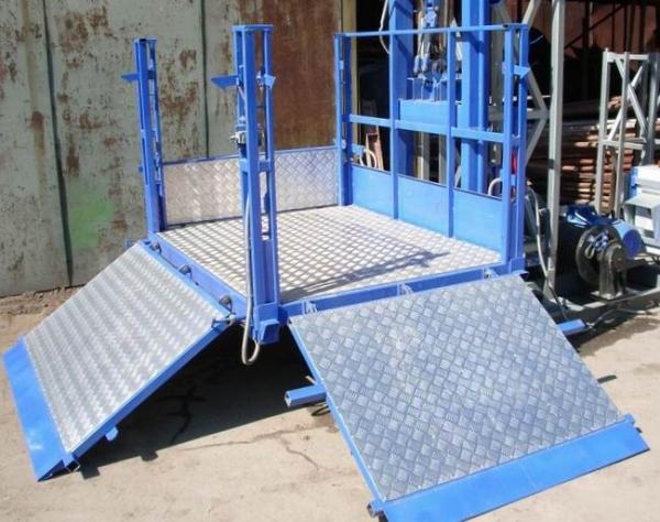 Использование специальных мачтовых подъемников для ведения строительных работ
