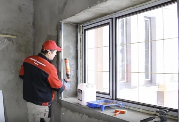 Наружное утепление металлопластиковых окон