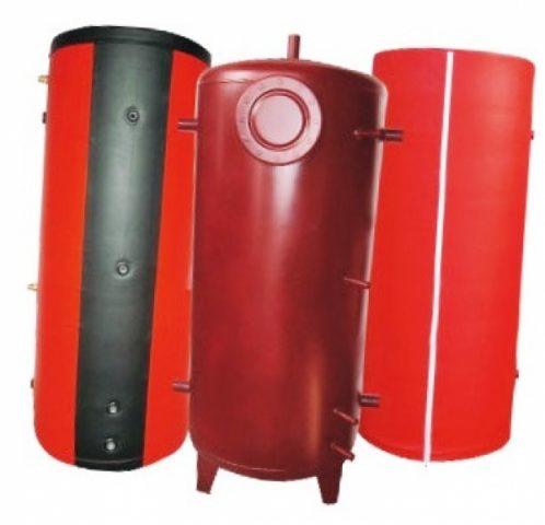 Теплоаккумулятор для котла на твердом топливе