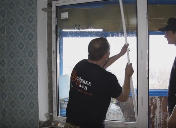Подробное описание последовательной установки балконного блока