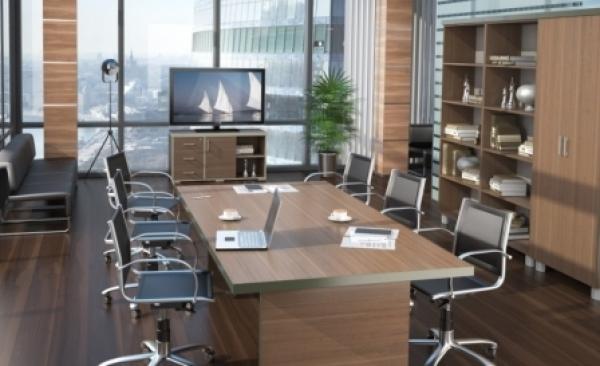 Меблировка офисных комнат