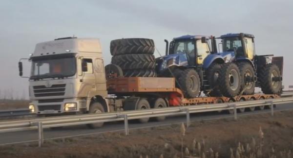 Особенности перевозки негабаритных грузов автотранспортом