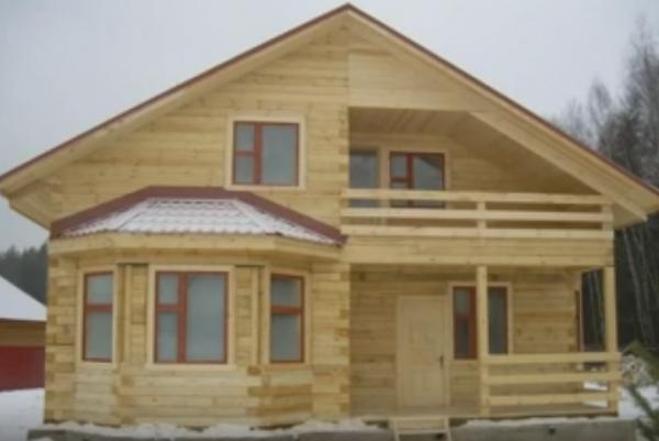 Проектируем и строим дом из бруса
