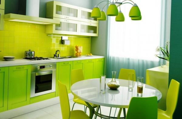 Секреты воздействия цвета кухонного помещения на настроение