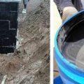Обмазочная гидроизоляция для фундамента: характеристики, расход