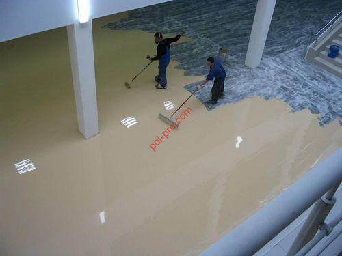 Полиуретановый наливной пол - материалы и состав