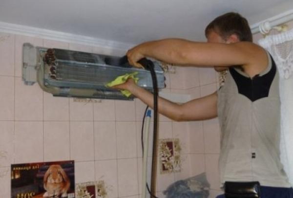 Чистка кондиционеров в домашних условиях