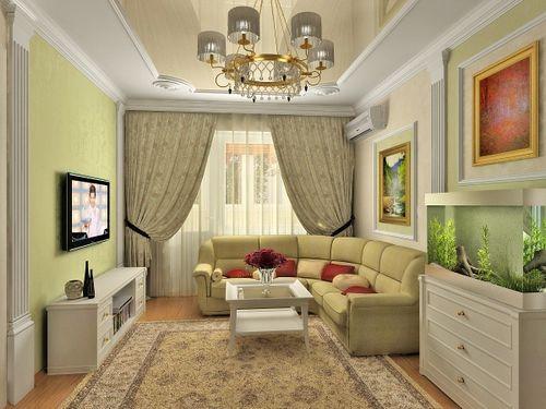 Дизайн однокомнатной квартиры в панельном доме: отделка