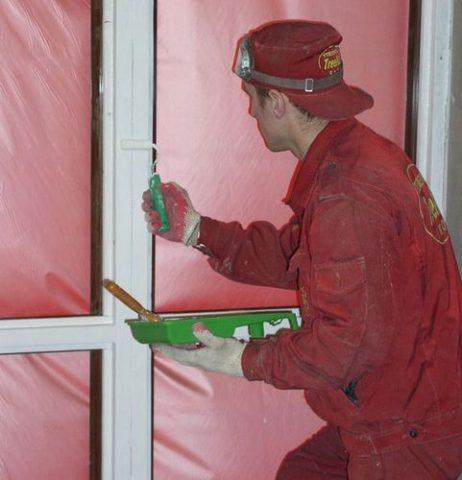 Покраска ПВХ: краска для панелей из пластика, видео-инструкция