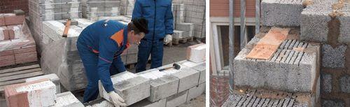 Кладка керамзитобетонных блоков своими руками