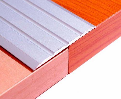 Алюминиевый отделочный профиль: ПВХ, видео-инструкция