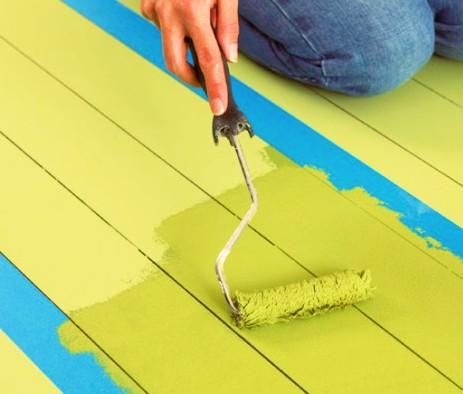 Как покрасить пол из досок: инструкция по покраске своими руками