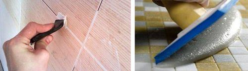 Эпоксидная затирка для плитки в ванной: инструкция