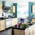 Покраска стен на кухне: фото готовых интерьеров