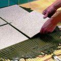 Как сделать электрический теплый пол под плитку своими руками