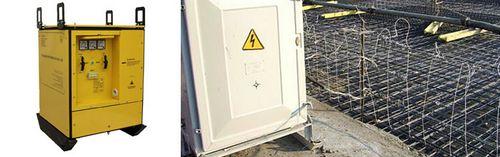 Трансформатор для прогрева бетона: характеристики, инструкция