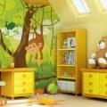 Фотообои для детской комнаты: инструкция по выбору