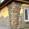 Отделка фасадов камнем: рустовые декоративные образцы