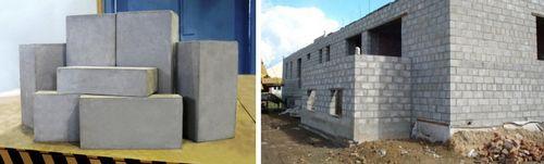 Зависимость веса газобетонного блока от его плотности и размеров
