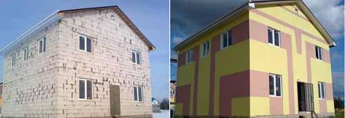 Штукатурка фасада дома: видео-инструкция, как и чем лучше, фото